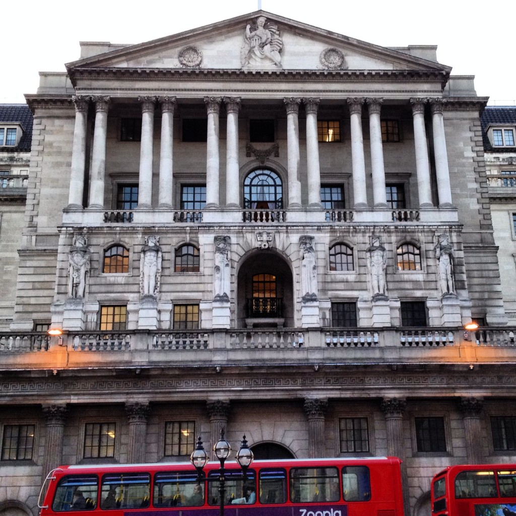 Bank of England Building Front Architecture