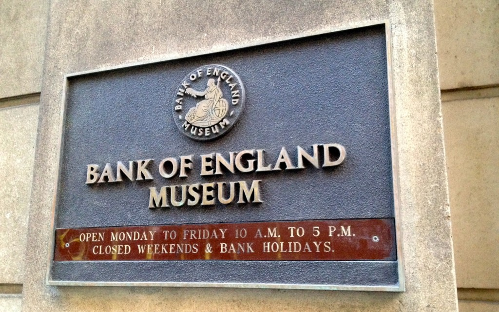 Bank of England Museum Hours