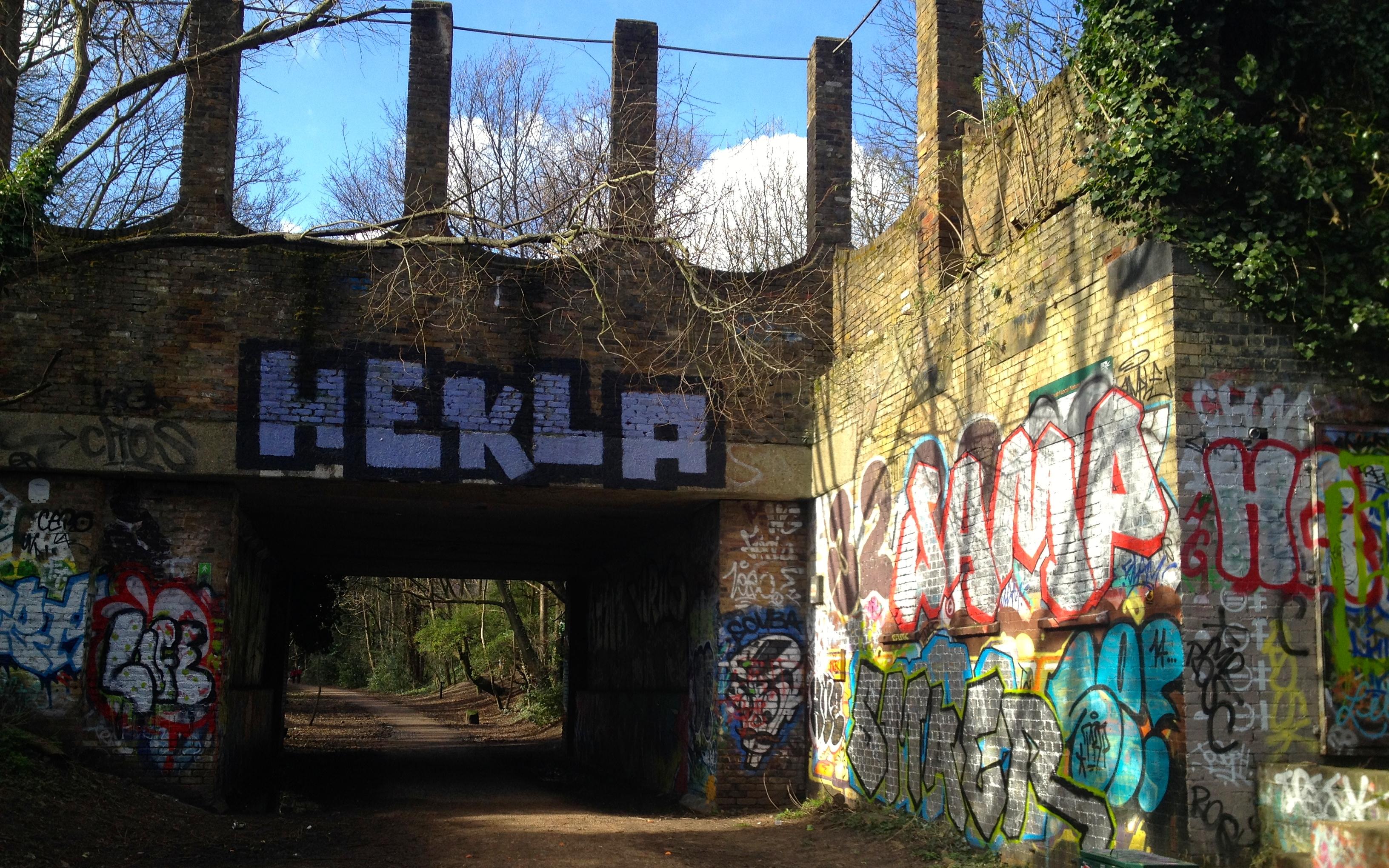 Parkland Walk Crouch End Abandoned Station