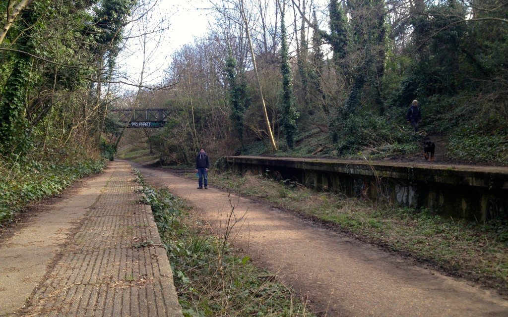Parkland Walk Crouch End Abandoned Train Station
