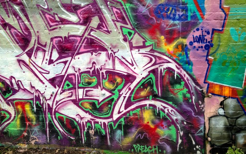 Parkland Walk Graffiti Art