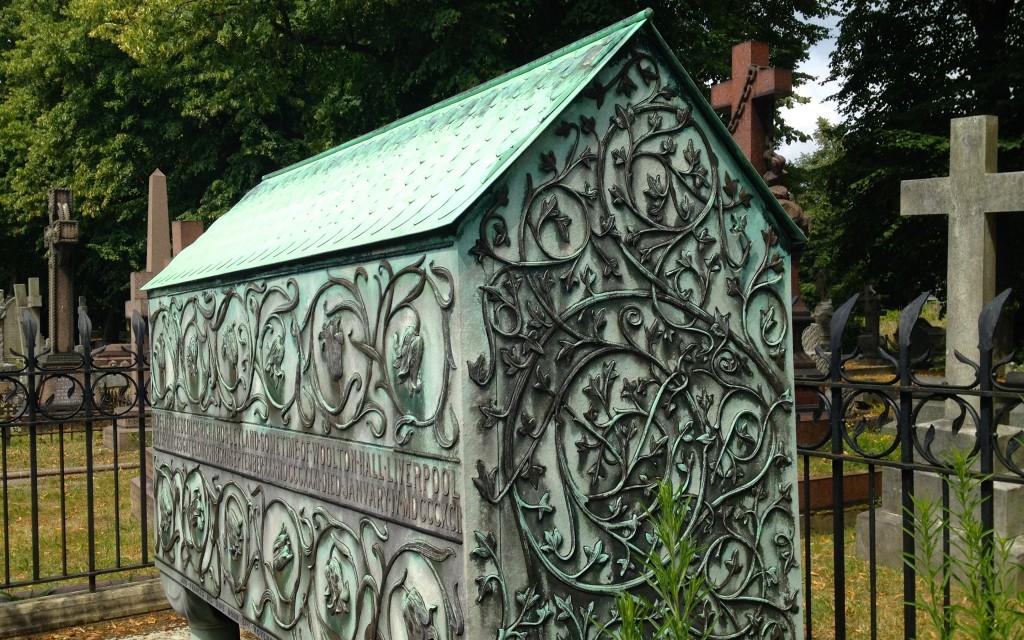 Brompton Cemetery Arts & Crafts style tomb