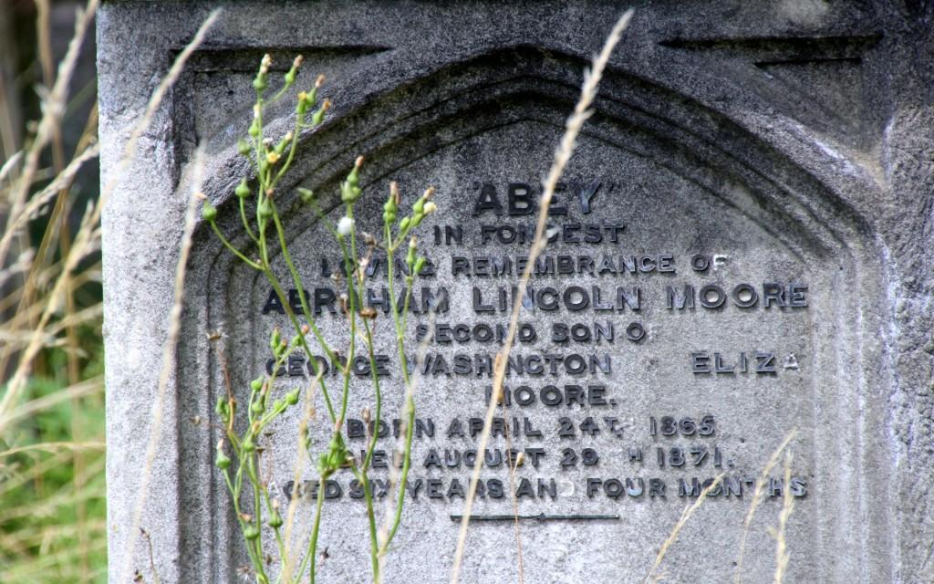 Brompton Cemetery headstone
