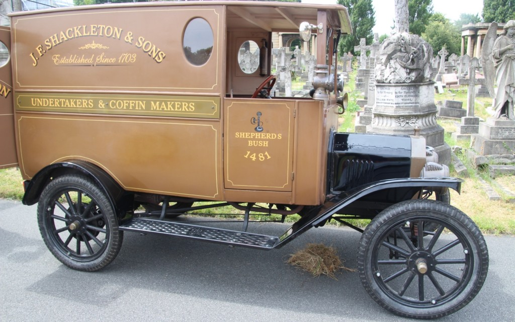 Brompton Cemetery Old Hearse