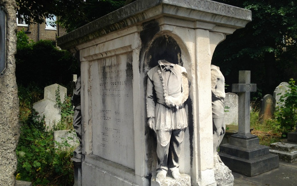 Brompton Cemetery Robert Coombes waterman tomb