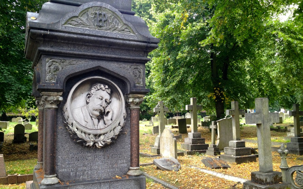 Brompton Cemetery Victorian Tombstone