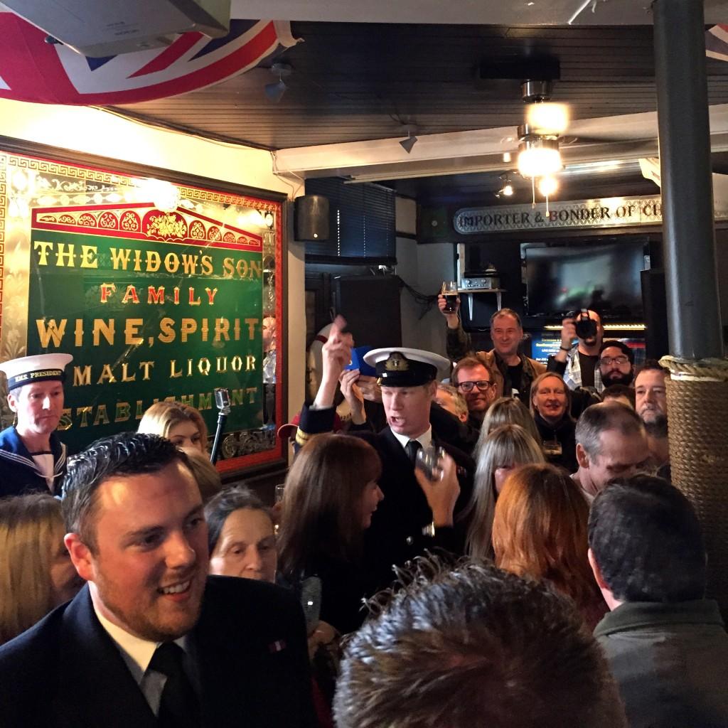 The Widow's Son Pub
