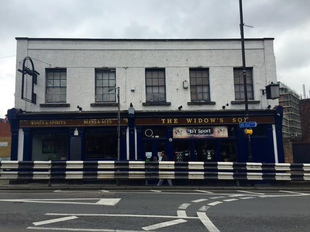 The Widow's Son Pub Bow