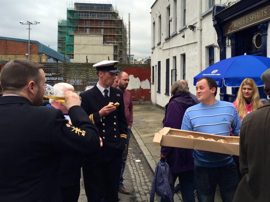 The Widow's Son Hot Cross Buns Sailors Bow