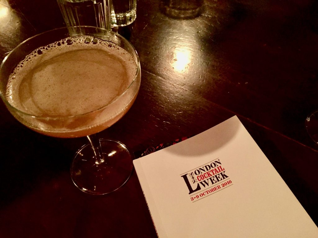 Hawksmoor Honey Melba London Cocktail Week 2016