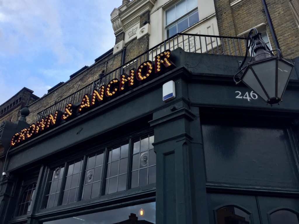 Crown & Anchor craft beer pub Brixton