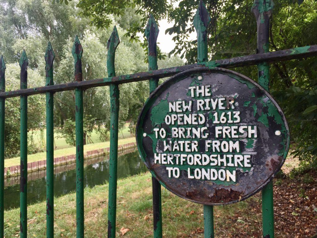 New River Path Finsbury Park