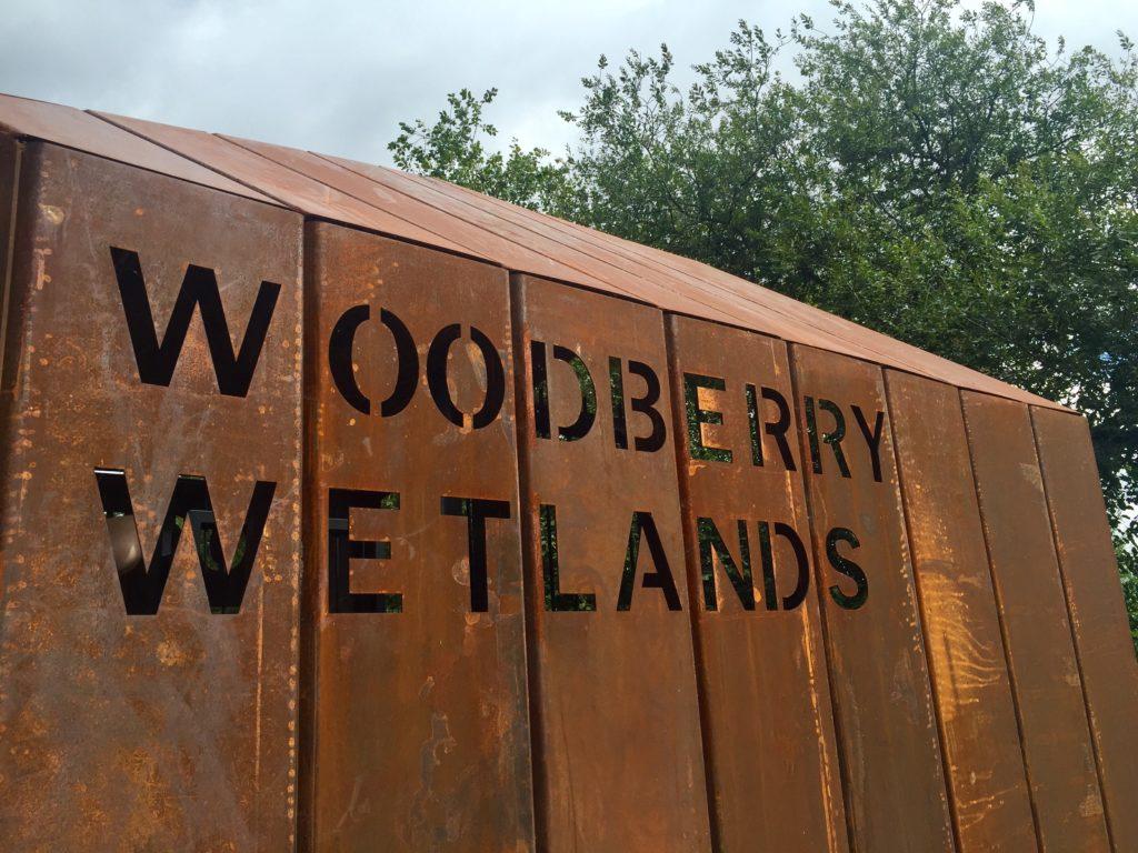 New River Path Woodberry Wetlands East Reservoir