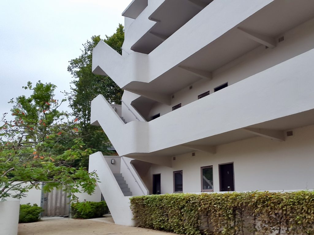 Modernist architecture of the Isokon Building, Lawn Road Flats