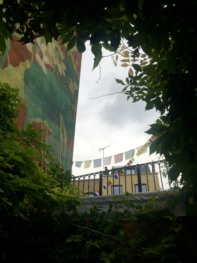 Murals at the London Buddhist Centre, Bethnal Green