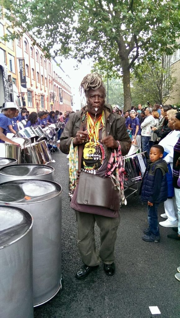Panorama Notting Hill Carnival merch seller