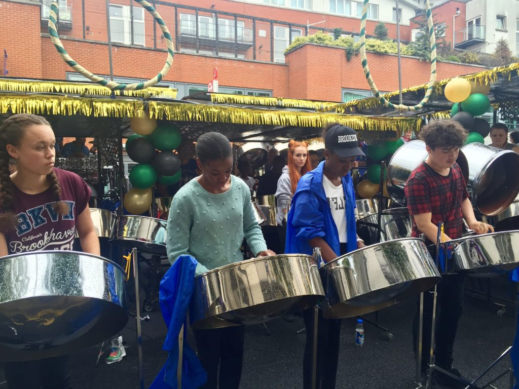 Panorama Notting Hill Carnival steel drum band competition
