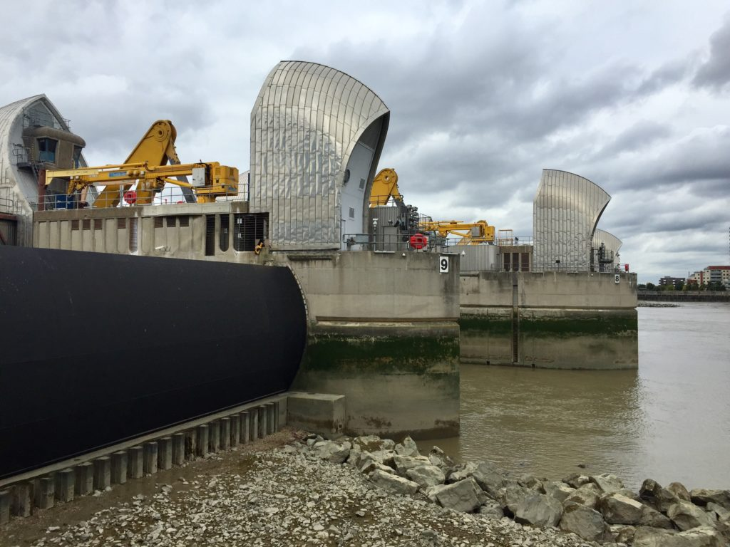 Thames Barrier Test Closure 2017