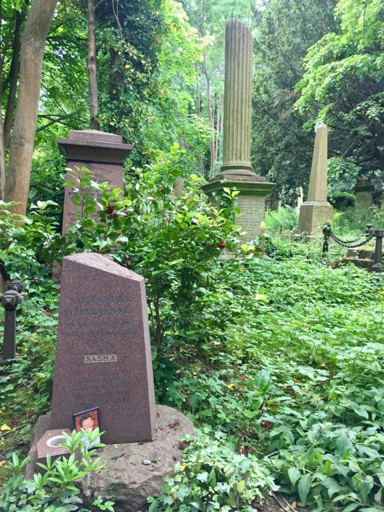 Highgate Cemetery West Alexander Litvinenko