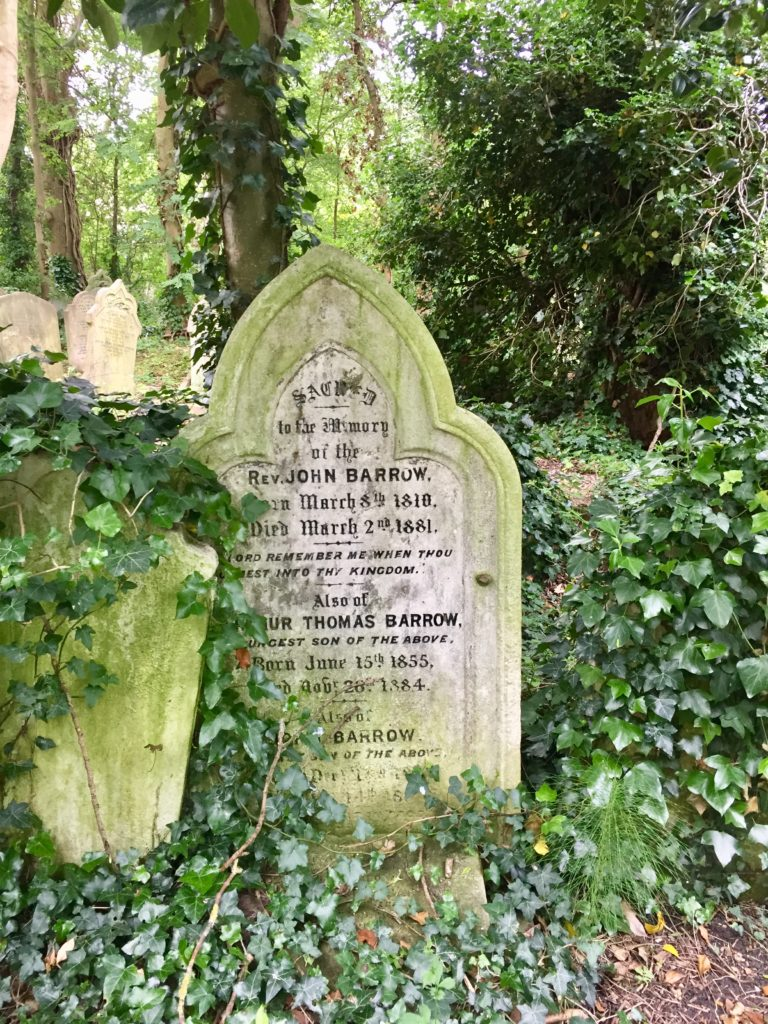 Highgate Cemetery East Victorian Tombstone