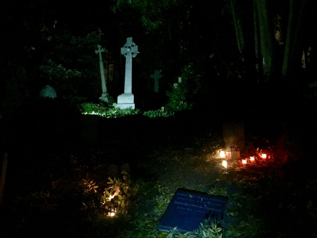 Highgate Cemetery East night tour