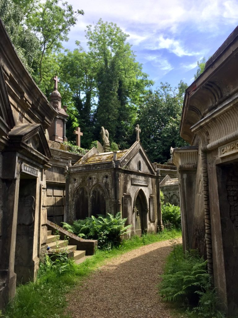 Highgate Cemetery West Family Vaults