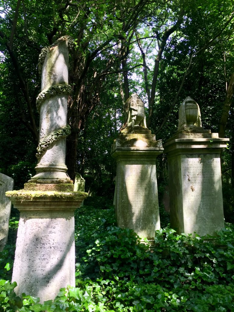 Highgate Cemetery West Victorian Death Symbols