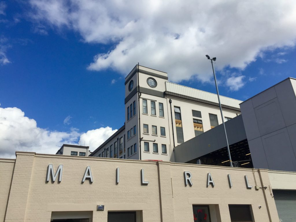 Mail Rail building, Farringdon, London