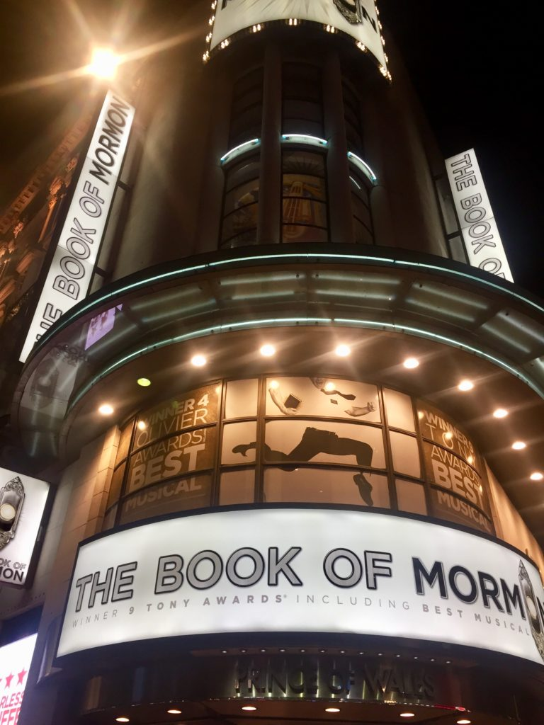Book of Mormon, West End, London