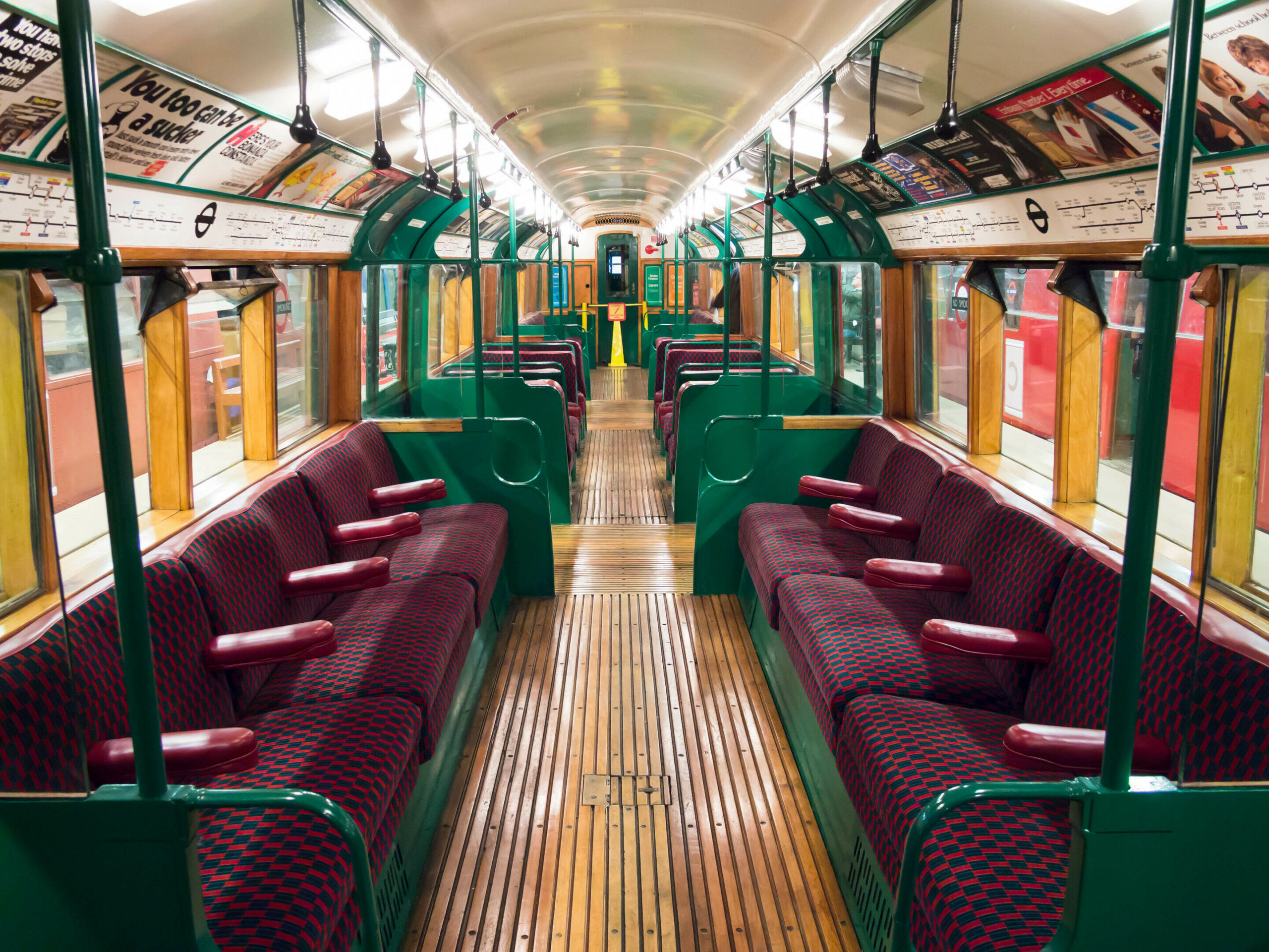 London's Retired Tube Trains Live on an Island