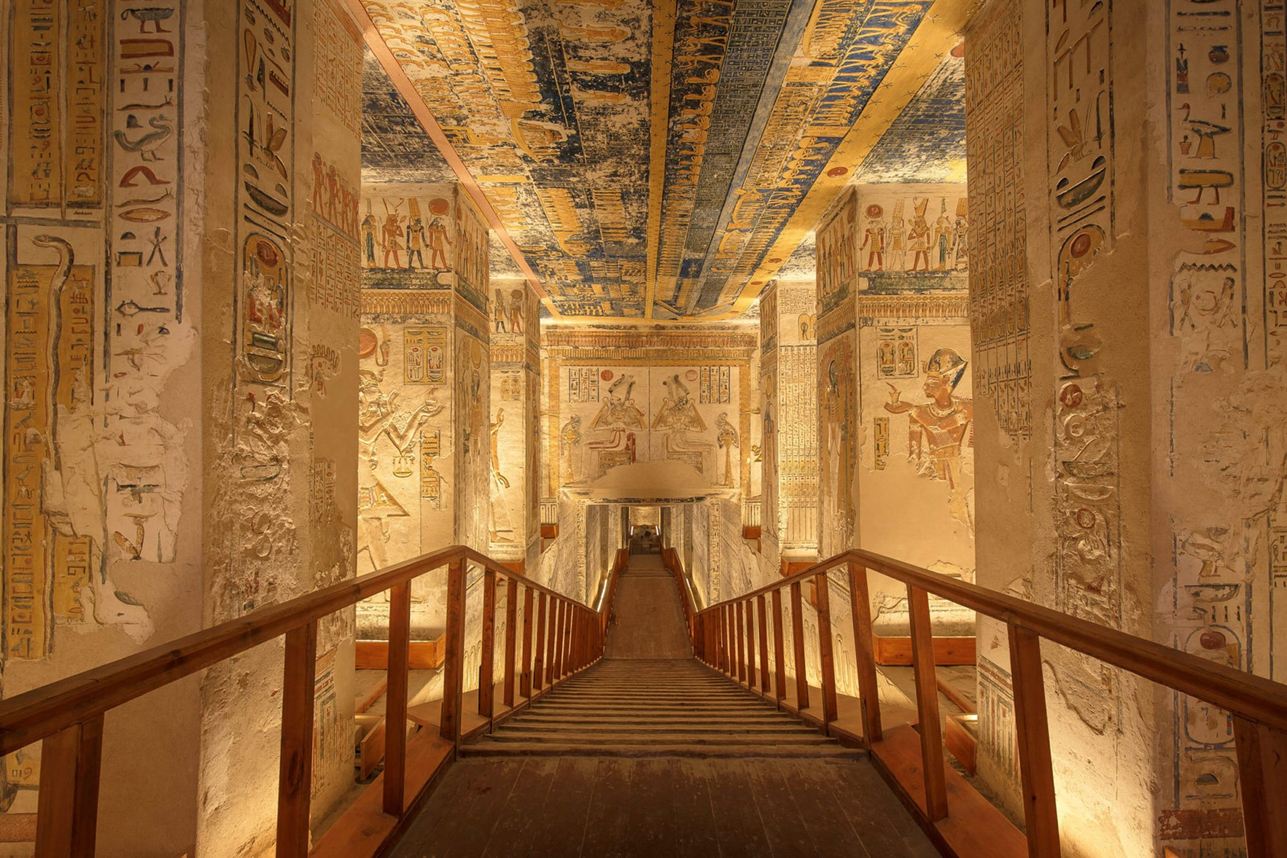 Secrets of southern Egypt's tombs and temples